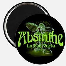 Absinthe Fairy Dark Magnet
