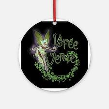 Dark Absinthe Fairy Ornament (Round)