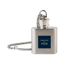 Fornicators for Palin Flask Necklace