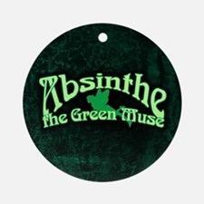 Absinthe The Green Muse Ornament (Round)