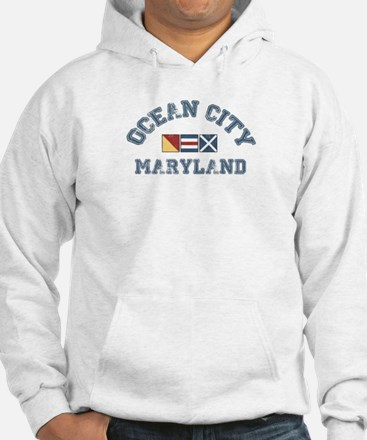 Ocean City MD - Nautical Design. Hoodie