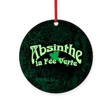 Absinthe La Fee Verte Ornament (Round)