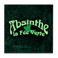 Absinthe La Fee Verte Tile Coaster
