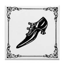 Victorian Shoe Tile Coaster