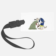 Vomiting dog.png Luggage Tag