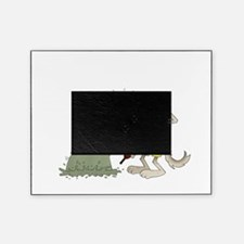 Vomiting dog.png Picture Frame
