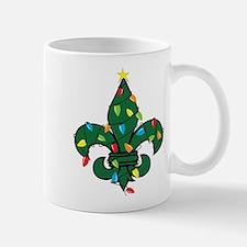 Fleur De Lis Christmas Mug