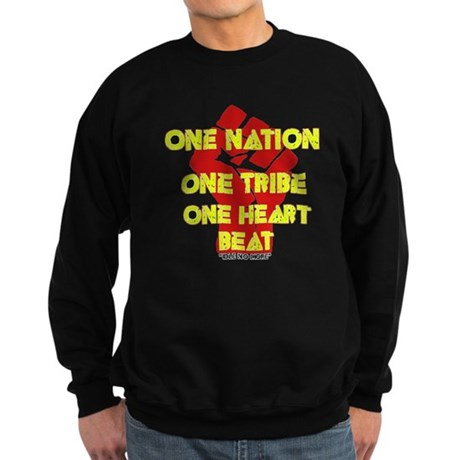 One Nation, One Tribe, One Heart Beat Sweatshirt (