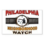 PHILADELPHIA Sticker (Rectangle 50 pk)