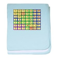 7 by 7 Core Word Communication Board - AAC baby bl