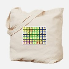 7 by 7 Core Word Communication Board - AAC Tote Ba