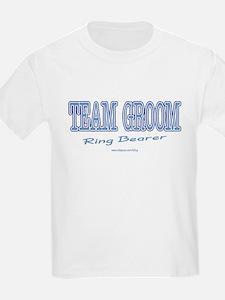 Team Groom-Ring Bearer Kids T-Shirt