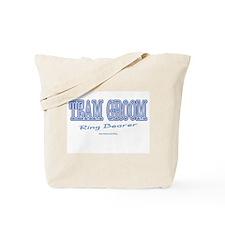 Team Groom-Ring Bearer Tote Bag