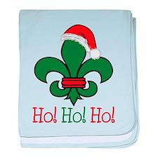 Ho Ho Ho baby blanket