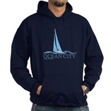 Ocean City MD - Sailboat Design. Hoodie