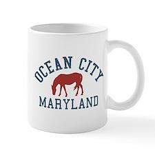 Ocean City MD - Ponies Design. Mug