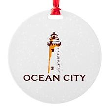 Ocean City MD - Lighthouse Design. Ornament