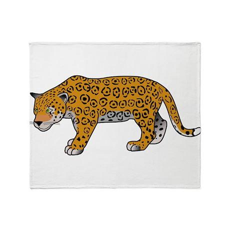 Baby Jaguar Throw Blanket