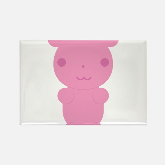 Gummi Bear - Pink Rectangle Magnet