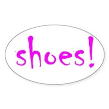 SHOES! Decal