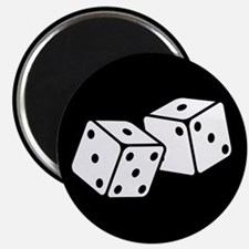 Retro Dice Magnet