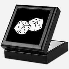 Retro Dice Keepsake Box