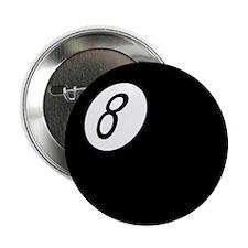 """Retro 8-Ball 2.25"""" Button"""