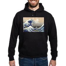 Japanese Tsunami Wave Art Hoodie