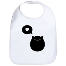 Kitty Love Bib