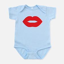Red Hot Lips Infant Bodysuit