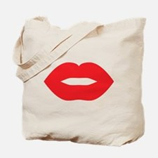 Red Hot Lips Tote Bag
