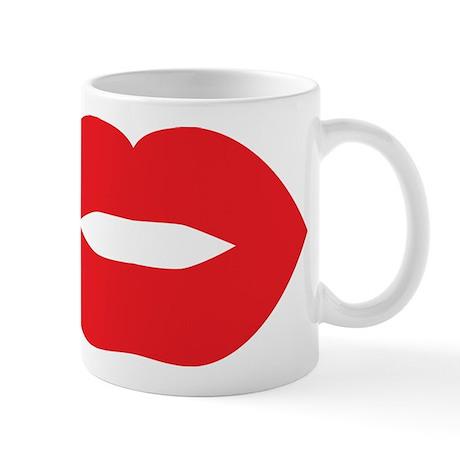 Red Hot Lips Mug