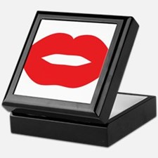 Red Hot Lips Keepsake Box
