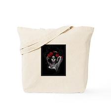 painted sugar skull seniorita Tote Bag