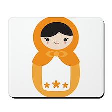 Matryoshka Doll - Orange Mousepad