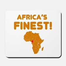 Cameroon map Of africa Designs Mousepad