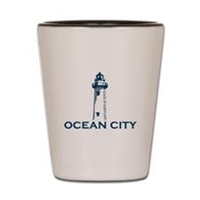 Ocean City MD - Lighthouse Design. Shot Glass