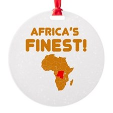 Congo map Of africa Designs Ornament