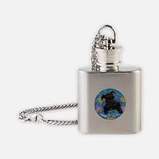 AtticusSwimRound.JPG Flask Necklace