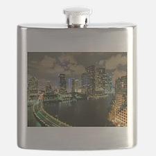 Miami @ Night Flask