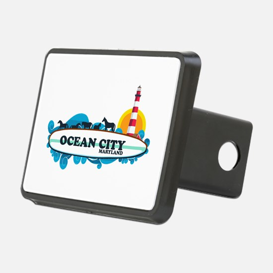 Ocean City MD - Surf Design. Hitch Cover