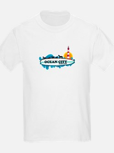 Ocean City MD - Surf Design. T-Shirt