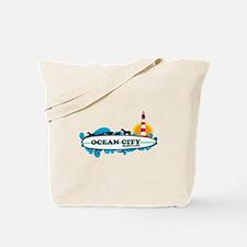 Ocean City MD - Surf Design. Tote Bag