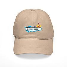 Ocean City MD - Surf Design. Baseball Cap