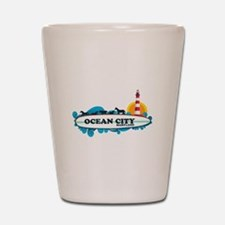 Ocean City MD - Surf Design. Shot Glass