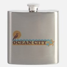 Ocean City MD - Beach Design. Flask