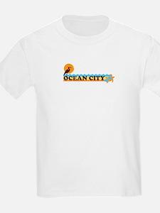Ocean City MD - Beach Design. T-Shirt