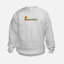 Ocean City MD - Beach Design. Sweatshirt