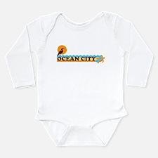 Ocean City MD - Beach Design. Long Sleeve Infant B