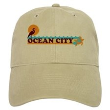 Ocean City MD - Beach Design. Baseball Baseball Cap